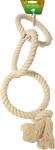 Katoenen touwringen klein Ø 13 cm, 3-rings.
