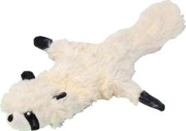 Hondenspeelgoed Pluche Wasbeer ca. 35 cm. Met piep