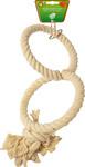 Katoenen touwringen klein Ø 13 cm, 2-rings.