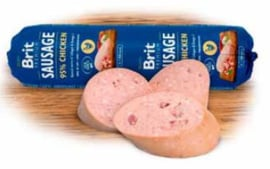 Brit Meat Sausage Chicken 800 gram