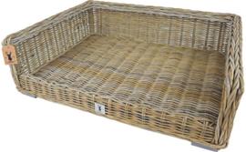 Boony 'Est 1941' rotan bed, 100x70 cm.