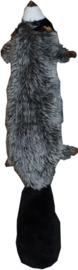 Hondenspeelgoed Pluche Wasbeer ca. 45 cm. Met piep