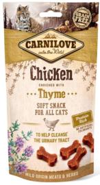 Carnilove kattensnacks soft snack - Kip met tijm