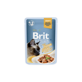 Brit Premium Pouches Fillets in Gravy Tuna 85 gram