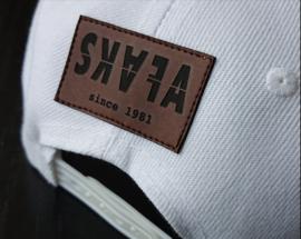 SNAPBACK WHITE - SKAFA BLACK