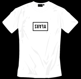 WHITE TSHIRT - SKAFA BLOCK