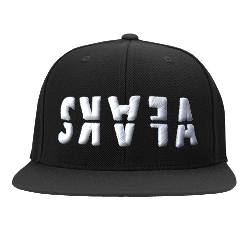 SNAPBACK BLACK - SKAFA WHITE