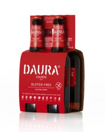 Daura Damm glutenvrij 0,33 liter (4-pack)