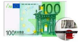 100 EURO - wallsculpture