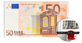 50 EURO - wallsculpture