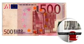 500 EURO - wallsculpture