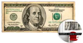 100 Dollars - wallsculpture