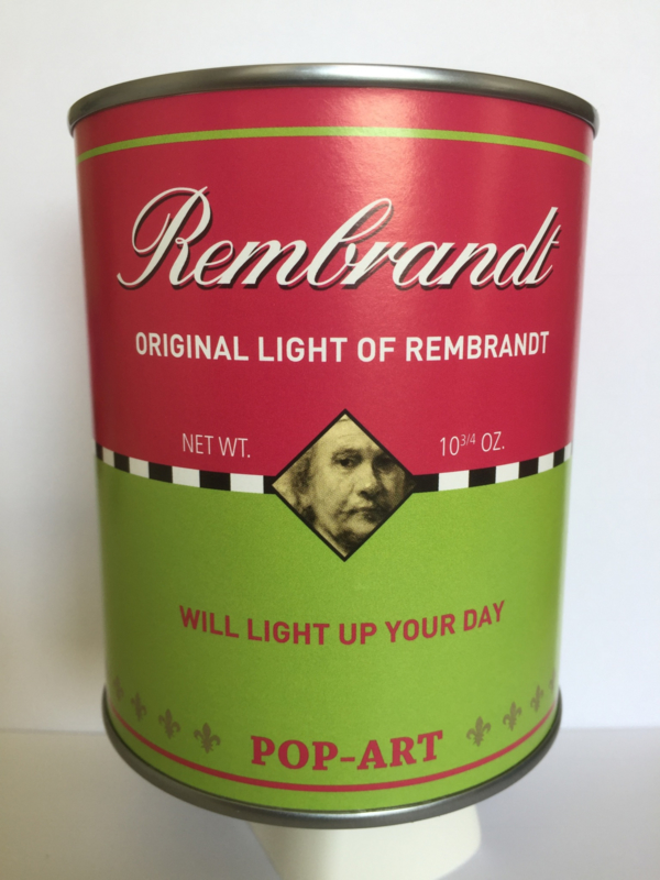 Original light of Rembrandt .