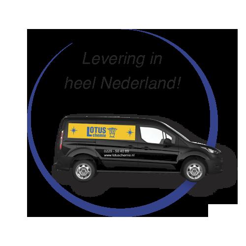 Gratis Levering in heel Nederland!