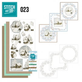 Stitch and Do 23 - Snow cabins STDO023