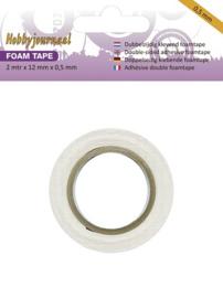 Hobbyjournaal - Foam tape - 0.5 mm