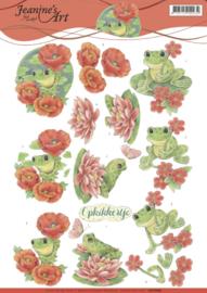 3D Knipvel - Jeanine's Art - Frogs CD11086