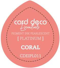 Card Deco Essentials Fast-Drying Pigment Ink Pearlescent Coral CDEIPL011