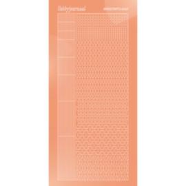 Hobbydots sticker - Mirror - Salmon 005 STDM05K