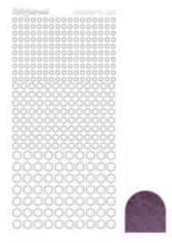 Hobbydots sticker Mirror Violet 008 STDM086