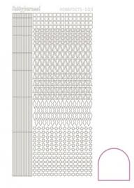 Hobby dots sticker adhesive White 009 STDA090