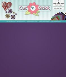 Cut 'n Stick 2x Mirror Purple 20x23 3.0509