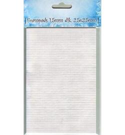 2,5 x 2,5 x 1,5mm - Foampads mini 09.03.11.004