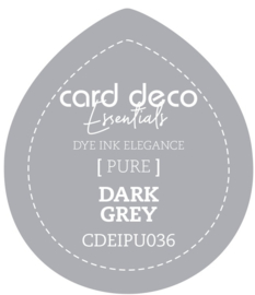 Card Deco Essentials Fade-Resistant Dye Ink Dark Grey CDEIPU036