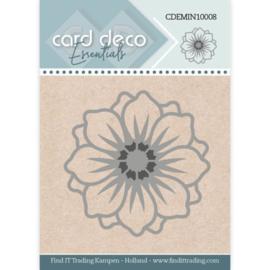 Card Deco Essentials - Mini Dies - Flower CDEMIN10008