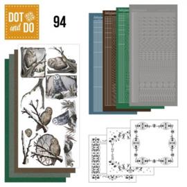 Dot and Do 94 - Winter uilen DODO094
