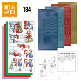 Dot and Do 184 - Yvonne Creations - Bubbly Girls - Christmas DODO184
