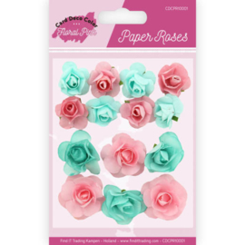 Paper Roses - Yvonne Creations - Floral Pink CDCPR10001