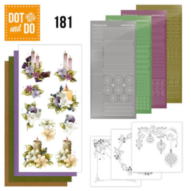 Dot and Do 181 - Precious Marieke - A Touch of Christmas - Candles  DODO181