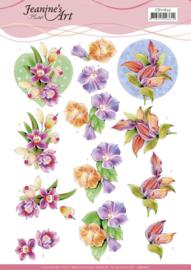 3D Cutting Sheet - Jeanine's Art - Orchid CD11625