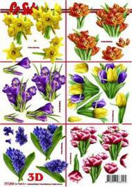 3D knipvel Le suh voorjaarsbloemen 777.394