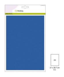 1 PK (1 PK) Papiervel-CV aquablauw 5 ST A4 90GR 001345/0052
