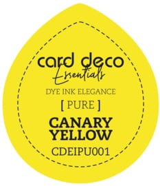 Card Deco Essentials Fade-Resistant Dye Ink Canary Yellow CDEIPU001