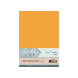 Linen Cardstock - A5 - Apricot LKK-A565