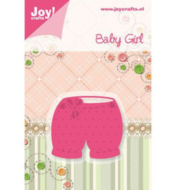 Joy crafts snij- en embossing baby girl - 6002/0216