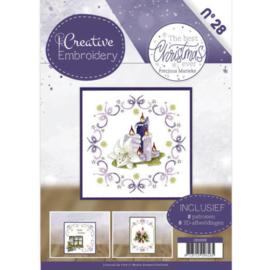 Creative Embroidery 28 - Precious Marieke - The Best Christmas ever CB10028