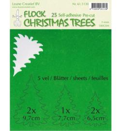 Leane Creatief Flock Paper - Green 61.1130