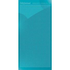 Hobbydots sticker Sparkles 01 Mirror Azure Blue HSPM01M