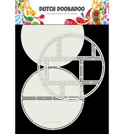 Ddbd 470.713.833 - Card Art Easel Card Circle 2pcs