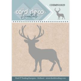 Card Deco Essentials - Mini Dies - Deer CDEMIN10029