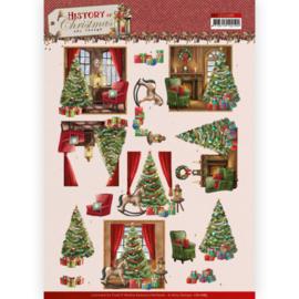 3D Cutting Sheet - Amy Design - History of Christmas - Christmas Home CD11685