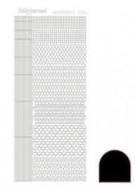 Hobby dots sticker adhesive Black 005 STDA053