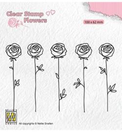Nellie FLO025 - Roses