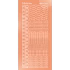 Hobbydots sticker - Mirror - Salmon 004 STDM04K