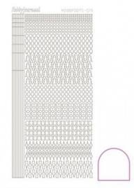 Hobbydots sticker adhesive white 015 STDA150