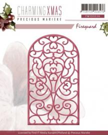Die - Precious Marieke - Charming Xmas - Fireguard PM10036